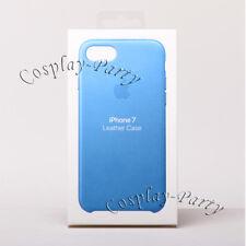 Genuine Original Apple Leather Snap Case For iPhone 7 / iPhone 8 - Sea Blue