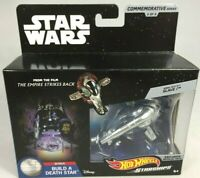 STAR WARS HOT WHEELS STARSHIPS BOBA FETT'S SLAVE 1 DIE-CAST #5 OF 9 IN SERIES