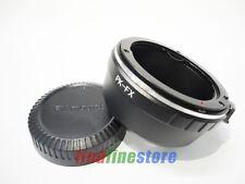 Pentax K PK Lens to Fujifilm Fuji FX X mount X-Pro1 X-E1 X-M1 X-A1 adapter + CAP