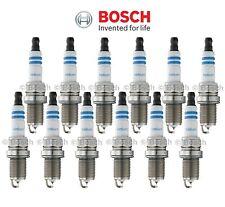 SET OF 12 Bosch OE Fine Wire Double Iridium Power Spark Plugs 9600 Exact-Fit