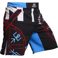 Fight Shorts Men/'s HCT Pitbull City MMA BJJ UFC Grappling Fitness Active Sport