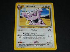 Pokemon Neo Genesis Set UN-COMMON Granbull 37/111 - NM/M Condition