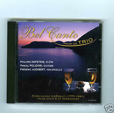 CD PHILIPPE DEPETRIS (FLUTE) PASCAL POLIDORI(GUITARE)FREDERIC AUDIBERT(CELLO)