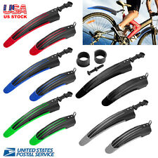 New-Mountain-Bike-Front-Rear-Fender-Mudguard Marsh Guard Fit for 24''-26'' Bikes
