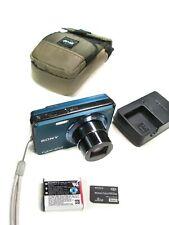 Great-Working SONY CYBERSHOT 12.1MP DSC-W290 DIGITAL CAMERA w/ Case, Charger etc