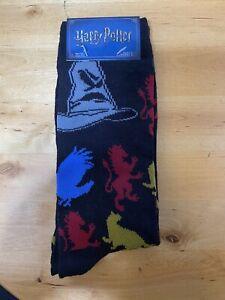 Harry Potter Hat & House Emblem Socks Size 6-12 Warner Bros & HYPNYC Exclusive