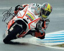 Yonny HERNANDEZ SIGNED Pramac Ducati MOTOGP 10x8 Autograph Photo AFTAL COA