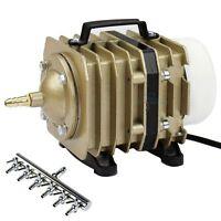 O2 Commercial Air Pump 952GPH Hydroponics Aquarium Aquaponics w/ Gang Valves