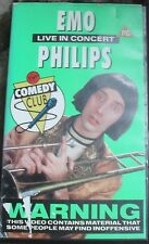 Emo Philips - Live In Concert. Rare VHS video. USA American Stand Up Comedy.