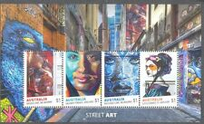 Australia-Street Art May 2017-mnh  min sheet