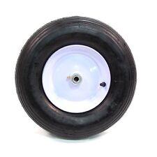 Arnold Wheelbarrow Wheel with Ribbed Tread - 480/400-Inch x 8-Inch