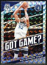 2019-20 NBA PANINI MOSAIC PRIZM KARL-ANTHONY TOWNS GOT GAME TIMBERWOLVES #20