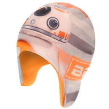 Boys Official Star Wars R2D2 BB-8 Fleece Lined Beanie Hat one size new with tag