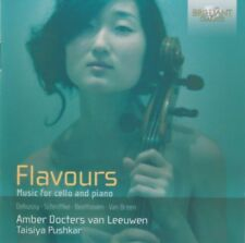 Amber Docters van Leuwen - Flavours - Music fpr celo and piano (Pushkar) CD