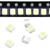100 Pcs 3528 White Ultra Bright Light Diode 1210 SMD LED Lights Set JT