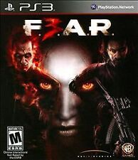 F.E.A.R. 3 (Sony PlayStation 3, 2011) FEAR  EN/FR