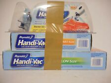 Reynolds 00590 Handi-Vac Vacuum-Sealing Starter Kit New + Bags Factory Sealed