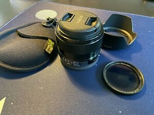 Sony SEL 35mm F/1.8 OSS Lens w/ Polarizer filter and LensCoat filter holder