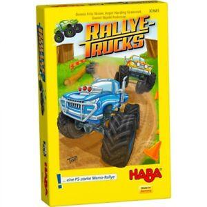 HABA 303685 Mitbringspiel - Rallye-Trucks