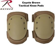 Coyote Brown Military Tactical Protective Gear Knee Pads 11058 Rothco