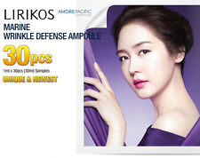 LIRIKOS Marine Wrinkle Defense Ampoule 30pcs Anti-Wrinkle Anti-Aging Newest Ver