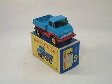 Matchbox Lesney # 49 Unimog Turquoise near mint/boîte (#MBB)