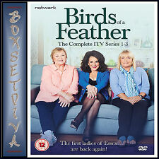 BIRDS OF A FEATHER - COMPLETE ITV SERIES 1 2 & 3 BOXSET  *BRAND NEW DVD **