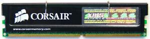 512MB Corsair Xms DDR1 RAM PC3200U 400MHz CL2 2-3-2-6@2.5V XMS3205