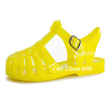 Girls Summer Retro Jelly Fisherman Water Shoes Kids JR Sandals Strappy Gladiator