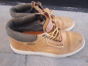 Men's Timberland GORE-TEX Anti-fatigue Shoes Trainers Brown Size 7.5 UK 41.5 EU