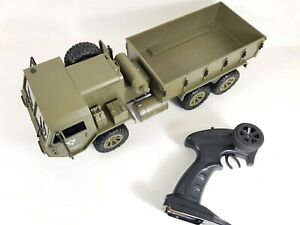 🚗1/12 6WD Off-Road RC Remote Control Army Car Military Vehicle RTR Truck Jeep