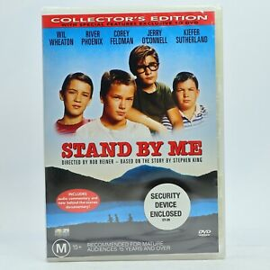 Stand By Me Collectors Edition River Pheonix DVD New Sealed Free Tracked Post