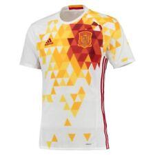 Camisetas de fútbol de clubes españoles 2ª equipación de manga corta talla XL