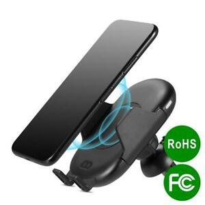 WIRELESS CHARGING AUTOMATIC CAR MOUNT INFRARED SENSOR HOLDER ON AIR VENT CLIP