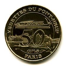 75001 Vedettes du Pont-Neuf, 50 ans, 2007, Monnaie de Paris