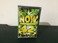 NOW 42 Music Cassette Tape Double