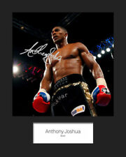 Boxing J Surname Initial Collectable Pre-Printed Sports Autographs