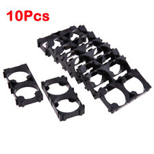 10Pcs 2x26650 Batteries Cell Spacer Radiating Shell Plastic Heat Holder Bracket