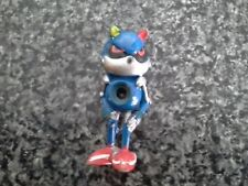Metal Sonic Rare & Hard-to-find 2inch tall Vintage Sonic the Hedgehog Figure.