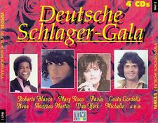DEUTSCHE SCHLAGER-GALA / 4 CD-SET (COLUMBIA/SONY MUSIC 1995)