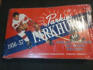 1994-95 Parkhurst Parkies Hockey unopened box.