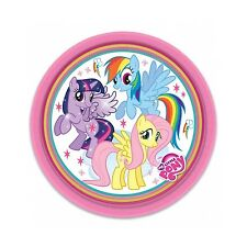 My Little Pony arcoiris gama fiesta Amscan Cumpleaños/pancarta/globos/ 8 X platos de papel (23cm)