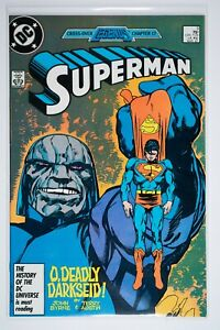 Superman #3 Cross-over Legends (1987 DC Comics) VF/NM Will Combine Shipping