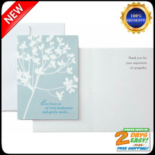 Pack Of 20 Thank You For Your Sympathy Cards Cherry Blossom Funeral