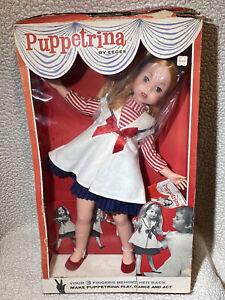 VINTAGE PUPPETRINA EEGEE DOLL IN BOX - RARE
