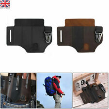 More details for multitool leather sheath edc pocket organizer leather man sheath with pen holder