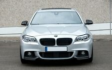 BMW 5 F10 F11 M Performance Look Front Bumper Elerons Splitter chin ABS flaps