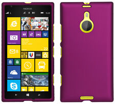 PURPLE RUBBERIZED PROTEX HARD CASE PROTECTOR COVER FOR AT&T NOKIA LUMIA 1520