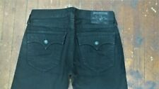 Authentic True Religion Mens Ricky Black Jeans Pants 32x34 33