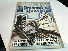 APRIL 1938 MAGAZINE PRATICAL MOTORIST WILSON GEARBOX RAC RALLY SQUARE 4 ENGINE